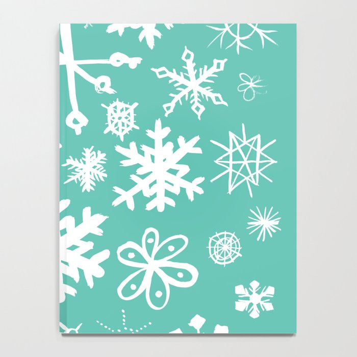 Snowflake Pond Notebook