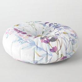 Wildflowers V Floor Pillow