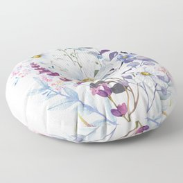 Wildflowers V Floor Pillow