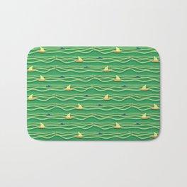 Sailing pattern 1b Bath Mat