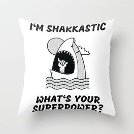 Sarcastic Christmas gift ideas Throw Pillow