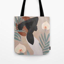 Tropical Girl 4 Tote Bag