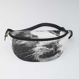 guinea pig ws bw Fanny Pack