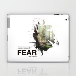 """""""The oldest and strongest emotion of mankind is FEAR."""" Laptop & iPad Skin"""