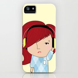 Mss Musical iPhone Case