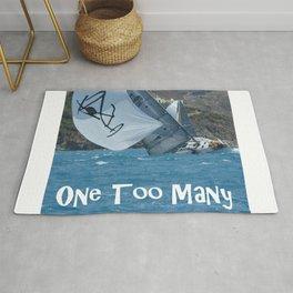 Sailing One Too Many Rug
