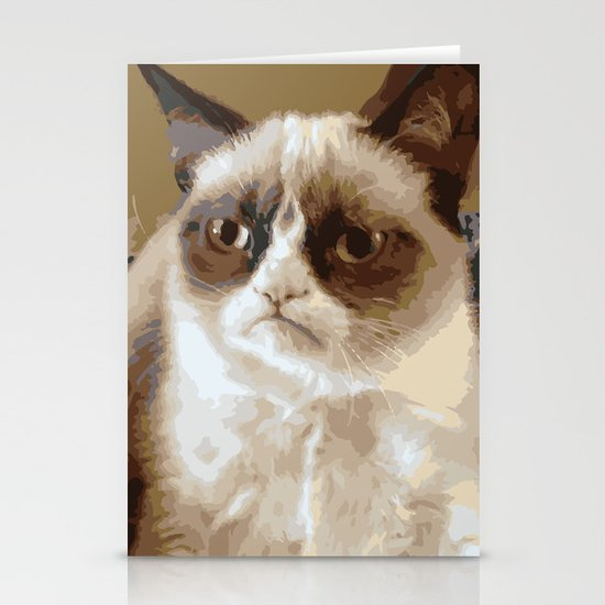 Grumpy Cat Stationery Cards