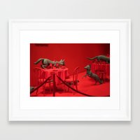 home alone Framed Art Prints featuring Home Alone by Uukie Art