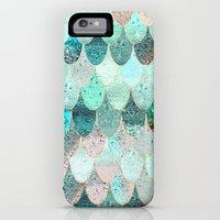 iPhone 6 Power Case featuring SUMMER MERMAID by Monika Strigel