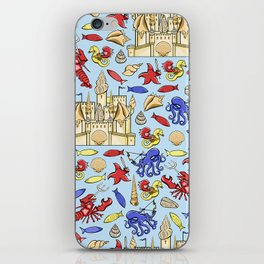 Battle of Ocean's Deep iPhone Skin