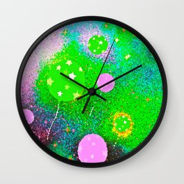 Celebrate Happiness Wall Clock