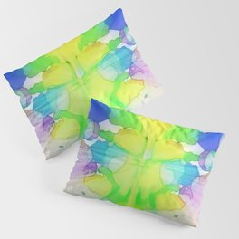 Abstract Multi-coloured 1267 Pillow Sham