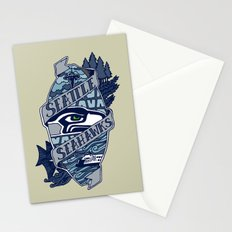 Go Hawks Stationery Cards