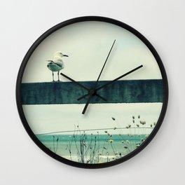 Sea gull Wall Clock