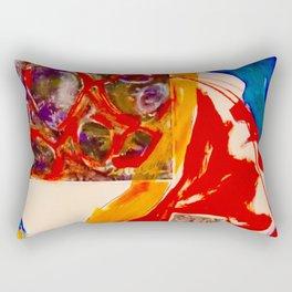 Look To The Hills Rectangular Pillow