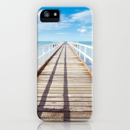 Beach Dock iPhone Case