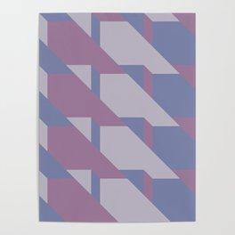 Lavender Way #society6 #lavender #pattern Poster