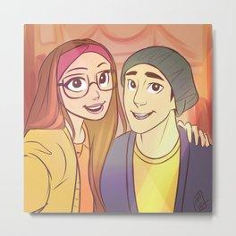 Selfie with Tadashi Metal Print