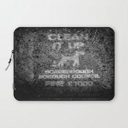 Public Notice Laptop Sleeve