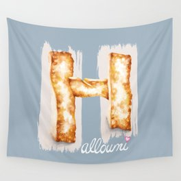 Halloumi cheese Wall Tapestry