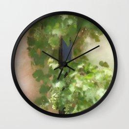 Young Greek Wine Wall Clock