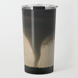 Tornado On the Ground at Salina Kansas Travel Mug