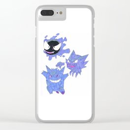 Ghost Evolutions Clear iPhone Case