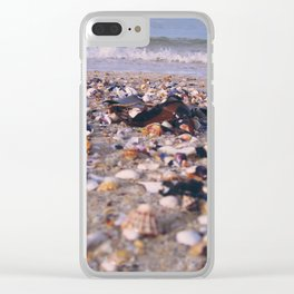 Coquillages Clear iPhone Case