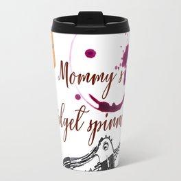 Mommy's fidget spinner Travel Mug