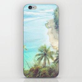 Dreamy Beach Portrait iPhone Skin