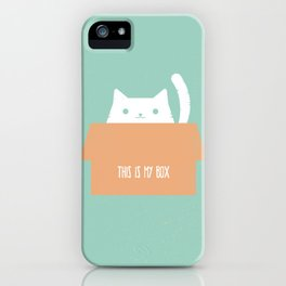 This is My Box iPhone Case