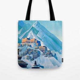 12,000pixel-500dpi - Nicholas Roerich - Tibet Himalayas - Digital Remastered Edition Tote Bag