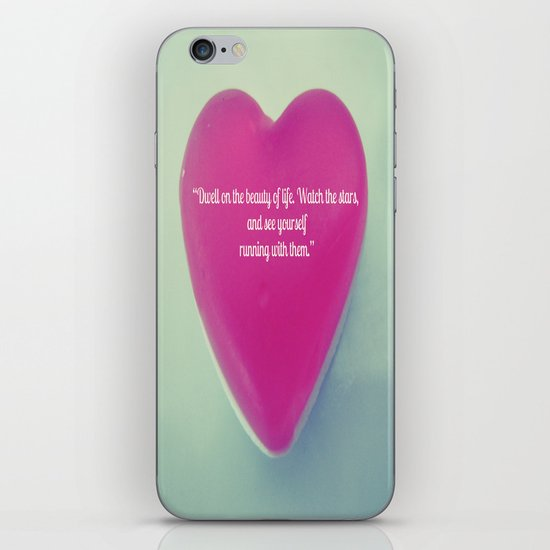 QUOTE ME iPhone & iPod Skin