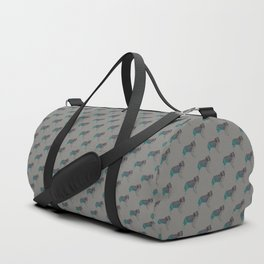 Border Collie 2 Duffle Bag