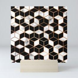 Marble & Geometry 005 Mini Art Print