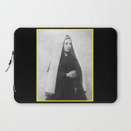 Billard Perrin - Portrait of Bernadette Soubirous 2 Laptop Sleeve