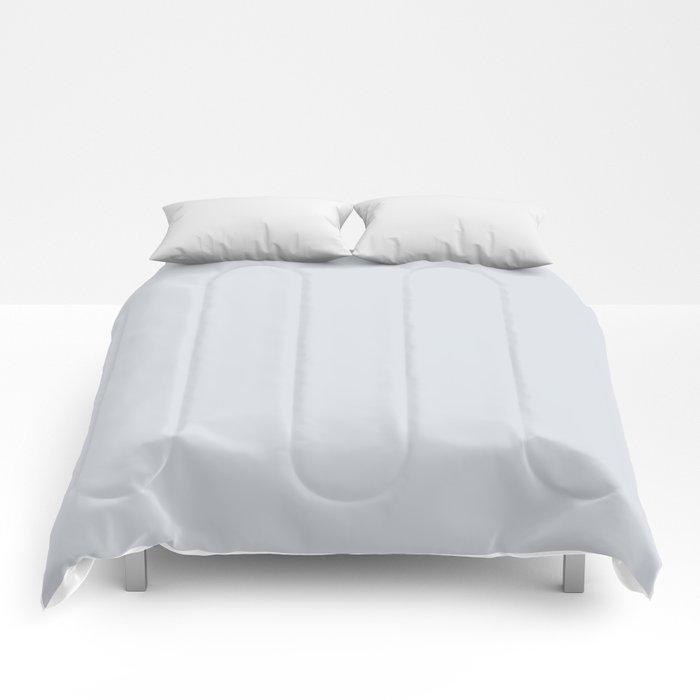 Vintage New England Shaker Village Light Slate Grey Milk Paint Comforters