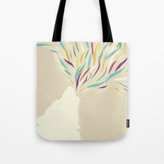 The Harlequin's Wolf Tote Bag