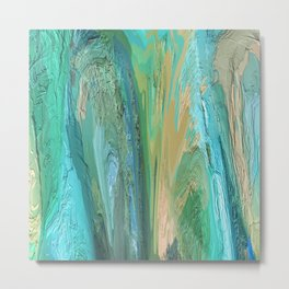 436 - Abstract Colour Design Metal Print