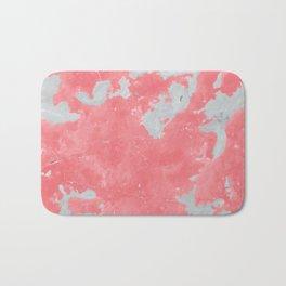 pink marble pattern Bath Mat