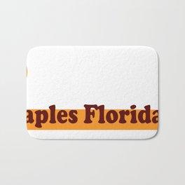 Naples Florida. Bath Mat