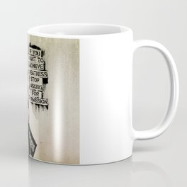 Banksy, Greatness Coffee Mug