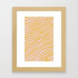 Wild Pattern Framed Art Print