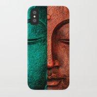 buddha iPhone & iPod Cases featuring buddha by mark ashkenazi