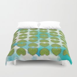 Cactus in the Heart Duvet Cover