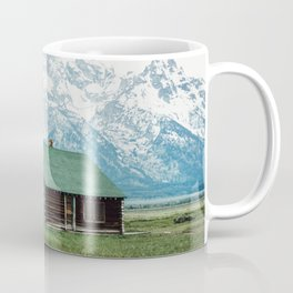 Teton Cabin Coffee Mug