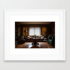 The Den Framed Art Print