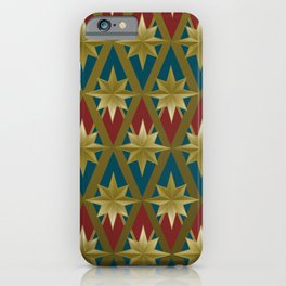 Gold Stars of a Hero iPhone Case