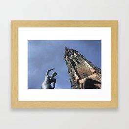 What remains... Framed Art Print
