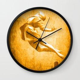 Full Moon Trip Wall Clock
